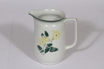 Arabia kukkakuvio kaadin, 1 l, suunnittelija , 1 l, puhalluskoriste, kukka-aihe