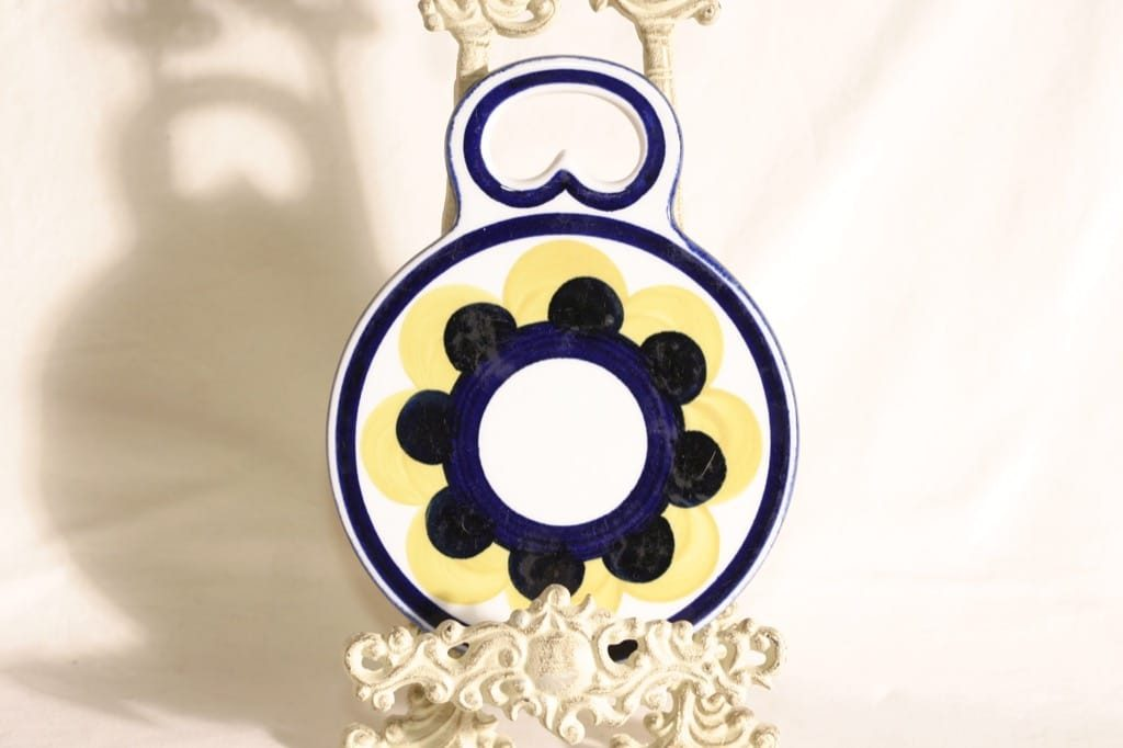 Arabia Paju household plate, hand-painted, designer Ulla Procope