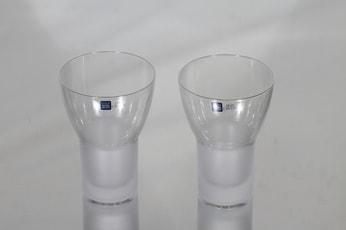 Iittala Marius lasit, 20 cl, 2 kpl, suunnittelija Markku Salo, 20 cl, matta