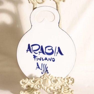 Arabia Paju talouslevy, käsinmaalattu, suunnittelija Ulla Procope, käsinmaalattu kuva 2