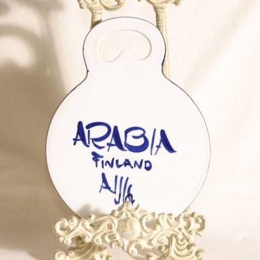 Arabia Paju household plate, hand-painted, designer Ulla Procope, 2