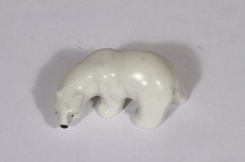 Arabia figuuri, jääkarhu, suunnittelija Raili Eerola, jääkarhu