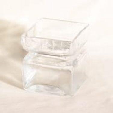 Riihimäen lasi Pala lasimaljakko, kirkas, suunnittelija Helena Tynell,