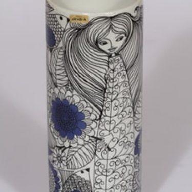 Arabia Pastoraali maljakko, suunnittelija Esteri Tomula, suuri, serikuva, satuaihe