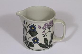 Arabia Flora kaadin, 1 l, suunnittelija Esteri Tomula, 1 l, serikuva, kukka-aihe