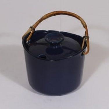 Arabia koristelematon marmeladirasia, sininen lasite, suunnittelija , pieni