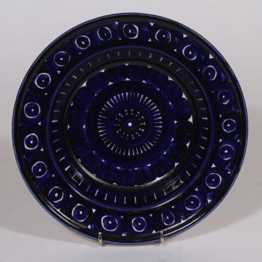 Arabia Valencia lautanen, syvä, suunnittelija Ulla Procope, syvä, käsinmaalattu, signeerattu