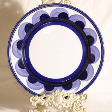 Arabia Paju lautanen, käsinmaalattu, suunnittelija Anja Jaatinen-Winquist, käsinmaalattu