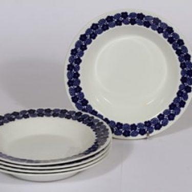 Arabia Rypäle lautaset, syvä, 5 kpl, suunnittelija , syvä, serikuva