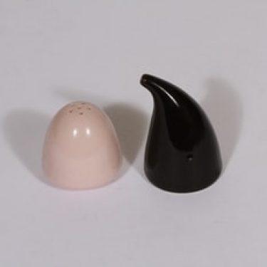 Arabia KA sirottimet, musta|vaaleanpunainen, 2 kpl, suunnittelija ,