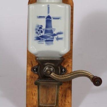 Arabia Tuulimylly kahvimylly, sininen, suunnittelija , puhalluskoriste