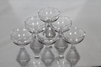 Iittala Briljant cocktail-lasit, kirkas, 6 kpl, suunnittelija Tapio Wirkkala,