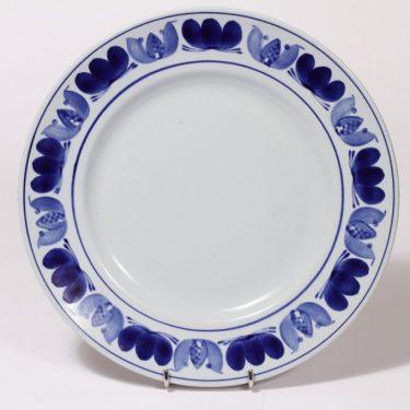 Arabia Blue laurel vati, käsinmaalattu, suunnittelija , käsinmaalattu