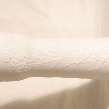 Arabia Suvi maljakko, valkoinen, suunnittelija Gunvor Olin-Grönqvist,