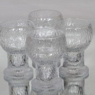 Iittala Kekkerit lasit, 25 cl, 4 kpl, suunnittelija Timo Sarpaneva, 25 cl