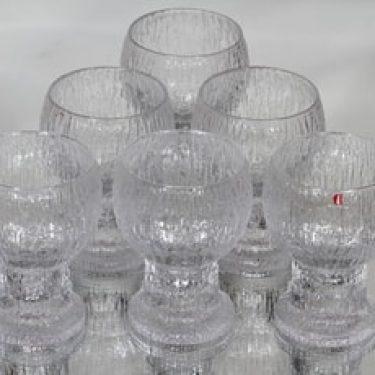 Iittala Kekkerit lasit, 20 cl, 6 kpl, suunnittelija Timo Sarpaneva, 20 cl