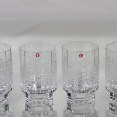Iittala Kuusi lasit, 20 cl, 4 kpl, suunnittelija Jorma Vennola, 20 cl