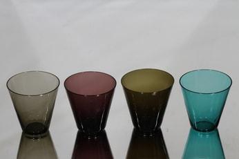 Nuutajärvi Kartio lasit, 20 cl, 4 kpl, suunnittelija Kaj Franck, 20 cl