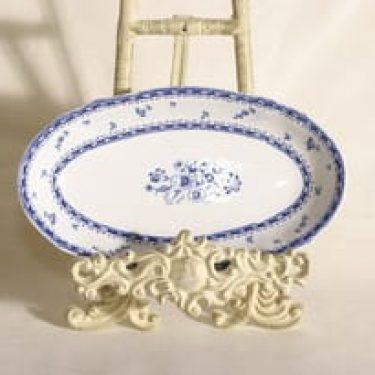 Arabia Suomen kukka sillivati, sininen, suunnittelija , kuparipainokoriste
