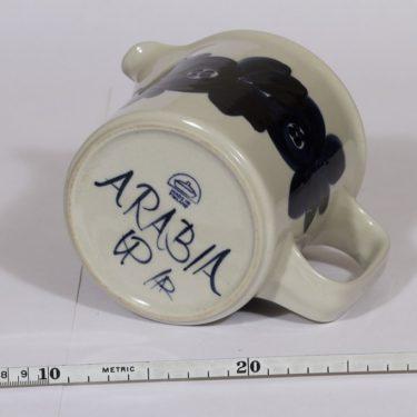 Arabia Anemone kaadin, käsinmaalattu, suunnittelija Ulla Procope, käsinmaalattu kuva 3