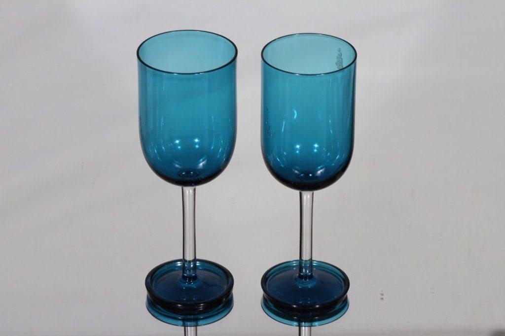 Riihimäen lasi Harlekiini mehulasit, 15 cl, 2 kpl, suunnittelija Nanny Still, 15 cl