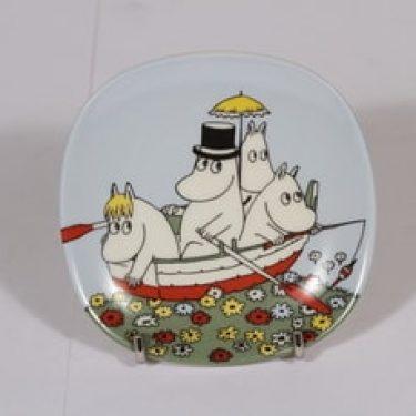 Arabia Muumi koristelautanen, Muumiperhe, suunnittelija , Muumiperhe, pieni, muumi-aihe