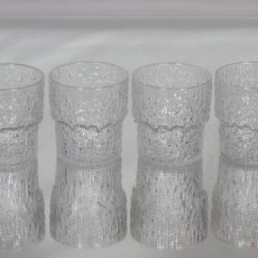 Iittala Paadar lasit, 20 cl, 4 kpl, suunnittelija Tapio Wirkkala, 20 cl