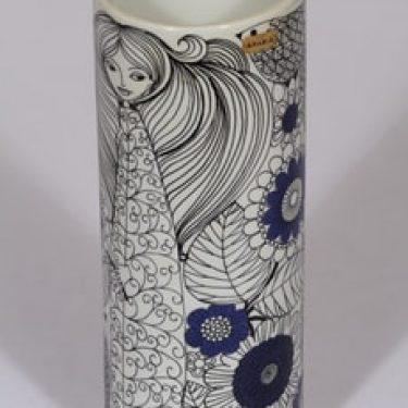 Arabia Vegeta maljakko, sininen, suunnittelija , serikuva, satuaihe