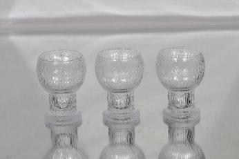 Iittala Kekkerit lasit, 5 cl, 4 kpl, suunnittelija Timo Sarpaneva, 5 cl