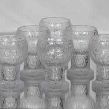 Iittala Kekkerit lasit, 30 cl, 6 kpl, suunnittelija Timo Sarpaneva, 30 cl