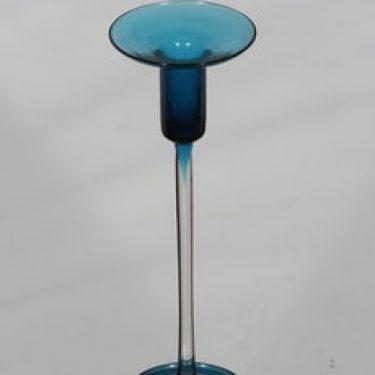 Riihimäen lasi Harlekiini 1916 kynttilänjalka, signeerattu, suunnittelija Nanny Still, signeerattu
