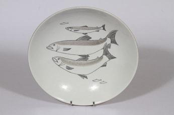 Arabia Kala kulho, käsinmaalattu, suunnittelija , käsinmaalattu