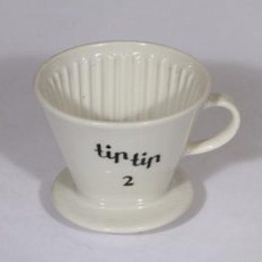 Arabia Tip Tip kahvisuodatin, valkoinen, suunnittelija ,