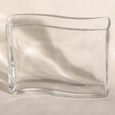 Riihimäen lasi lasimaljakko, kirkas, suunnittelija ,
