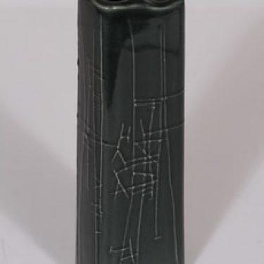 Arabia 385-2 maljakko, siniharmaa, suunnittelija Karl Heinz Schultz-Köln,