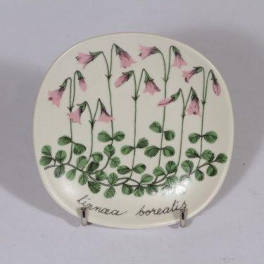 Arabia Botanica koristelautanen, Vanamo, suunnittelija , Vanamo, pieni, serikuva