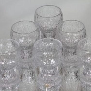 Iittala Kekkerit lasit, 5 cl, 6 kpl, suunnittelija Timo Sarpaneva, 5 cl