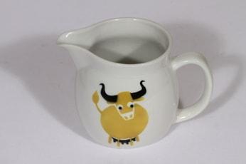 Arabia Heluna kaadin, 0.5 l, suunnittelija , 0.5 l, pieni, puhalluskoriste, lehmäaihe