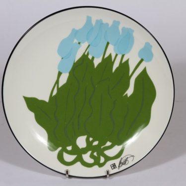 Arabia koristelautanen, Floria Sylvia, suunnittelija Howard Smith, Floria Sylvia, serikuva
