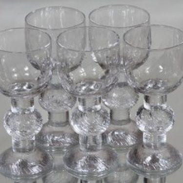 Iittala Ritari lasit, 16 cl, 5 kpl, suunnittelija Timo Sarpaneva, 16 cl