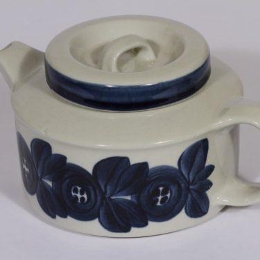 Arabia Anemone teekaadin, käsin maalattu, suunnittelija Ulla Procope, käsin maalattu