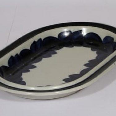 Arabia Anemone vati, käsinmaalattu, suunnittelija Ulla Procope, käsinmaalattu, soikea