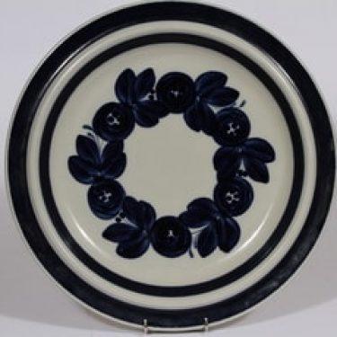 Arabia Anemone vati, käsinmaalattu, suunnittelija Ulla Procope, käsinmaalattu, suuri, pyöreä