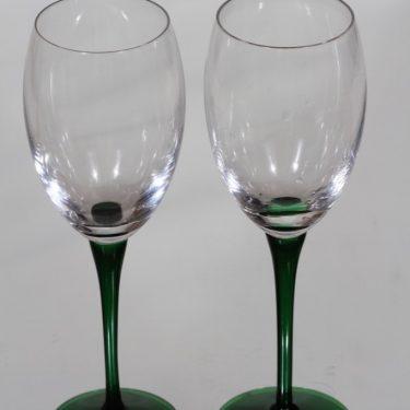 Nuutajärvi Traviata lasit, 20 cl, 2 kpl, suunnittelija Saara Hopea, 20 cl