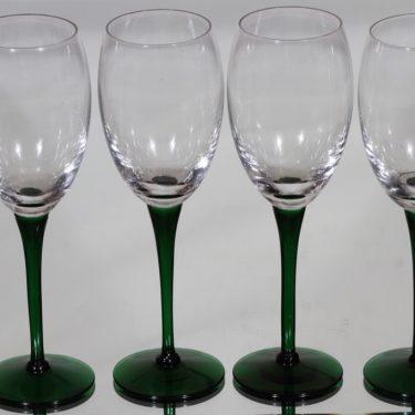 Nuutajärvi Traviata lasit, 20 cl, 4 kpl, suunnittelija Saara Hopea, 20 cl