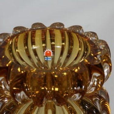 Kumela kulho, amber, suunnittelija Armando Jacobino, massiivinen