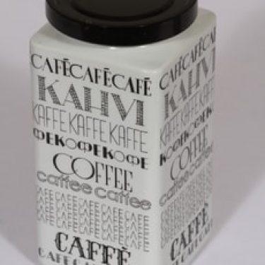 Arabia Kahvi kahvipurkki, suuri, suunnittelija , suuri