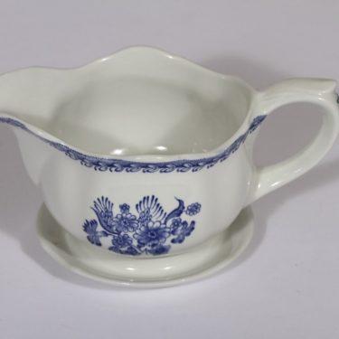 Arabia Suomen kukka kastikekaadin, sininen, suunnittelija , kuparipainokoriste