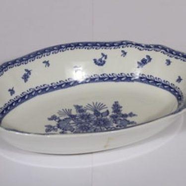 Arabia Suomen kukka kulho, sininen, suunnittelija , kuparipainokoriste