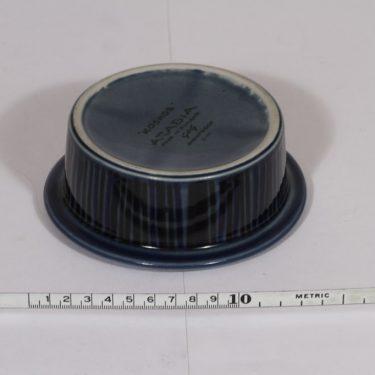 Arabia Kosmos annoskulho, sininen, suunnittelija , pieni, puhalluskoriste, retro kuva 2